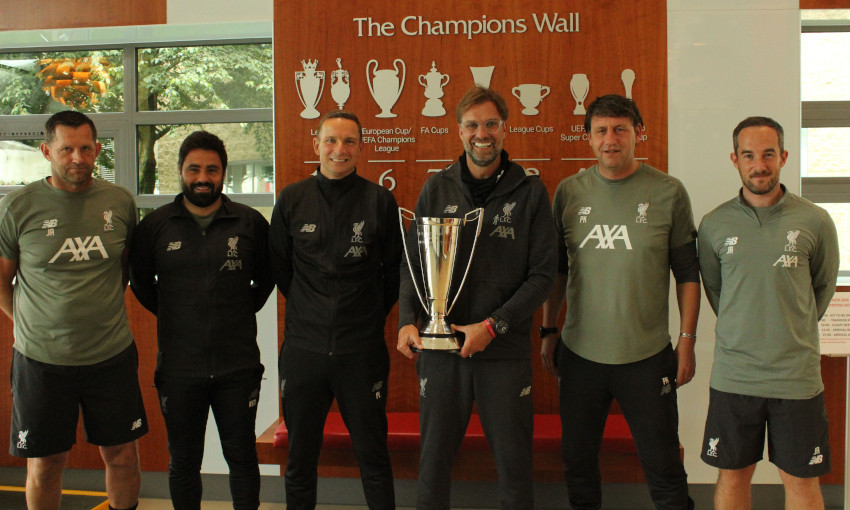 Jürgen Klopp wins LMA Manager of the Year