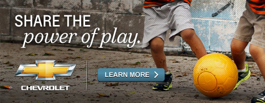 Chevrolet - Share the power of play. Learn More.