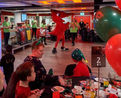 LFC host Junior Christmas party