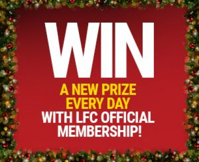 WIN everyday in our LFC Advent Calendar!