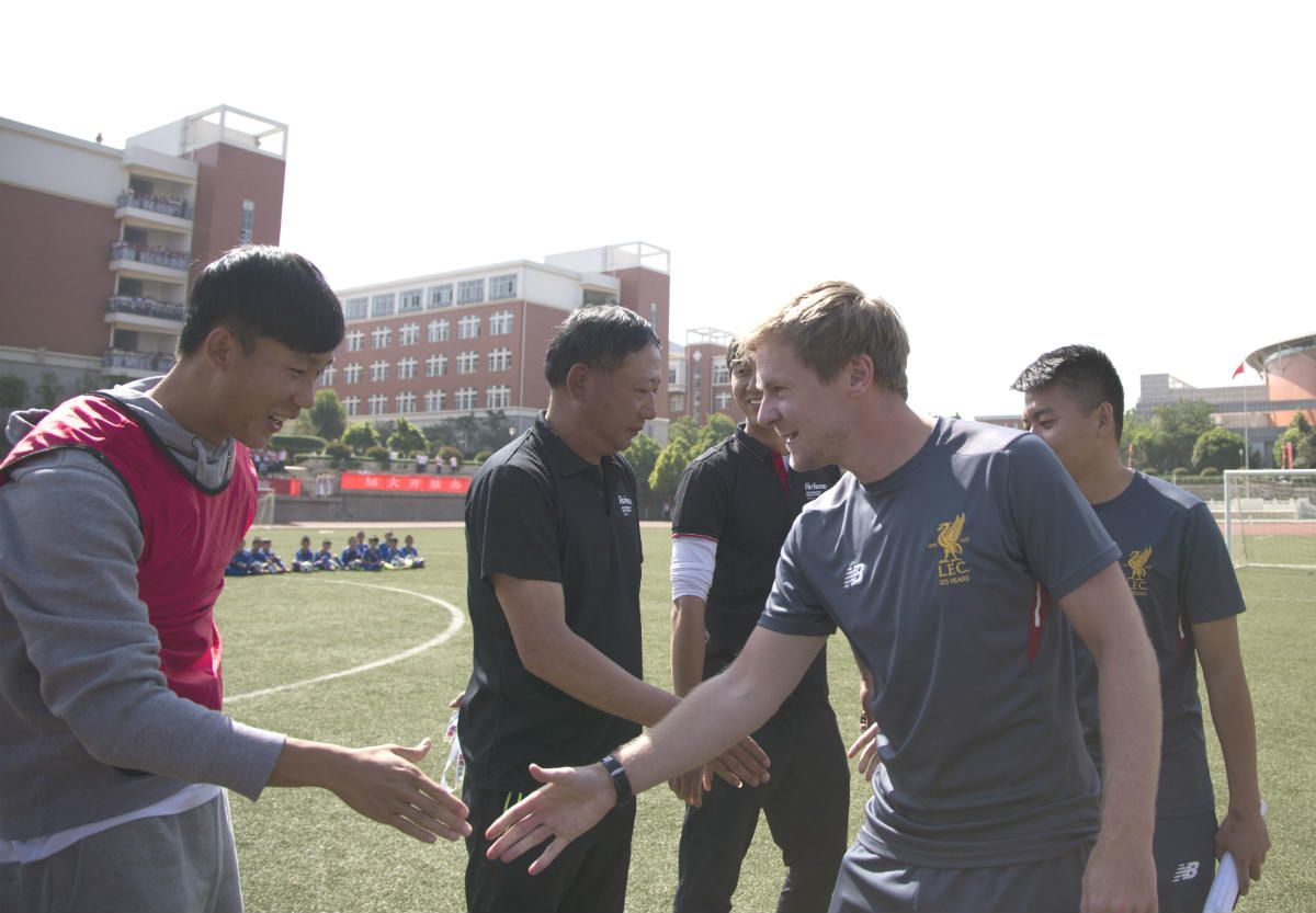 LFC IA Kunming Head Coach Dan Reece