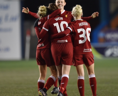 Liverpool Ladies FC start 2018 with 8-0 win