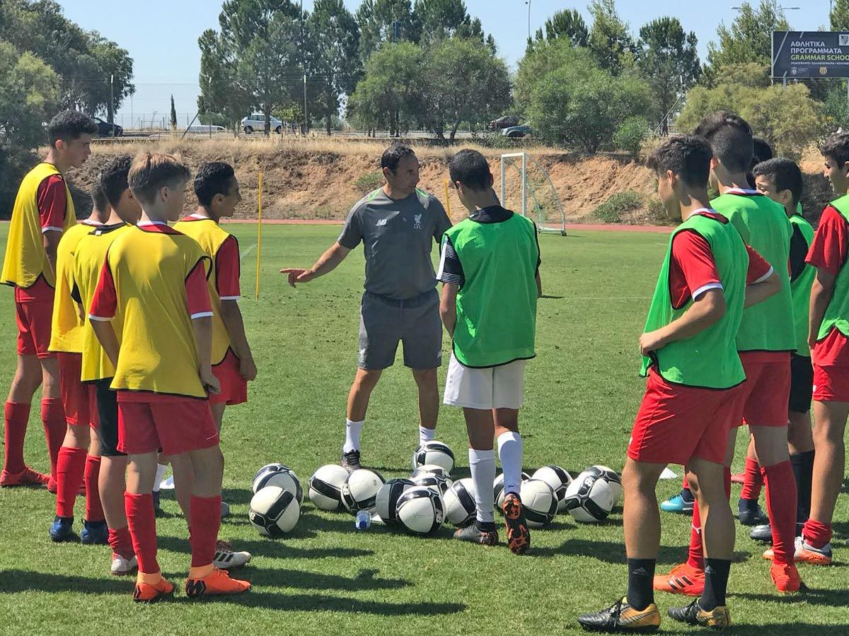 Ara leads a session at LFC IA Cyprus