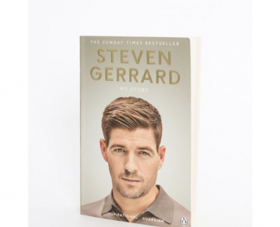 WIN a signed copy of Gerrard's My Story!