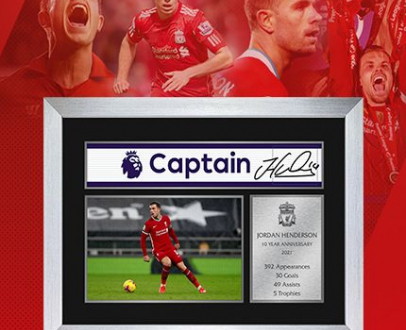 WIN a commemorative piece for Hendersons 10th year at the Club!