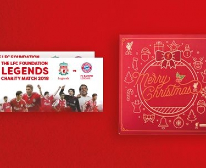 LFC Official Members can win a prize every day in the countdown to Christmas!