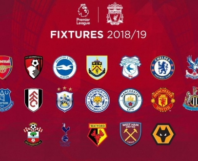 LFC's fixture list for 2018-19