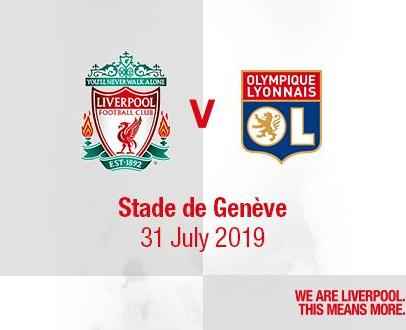 Pre-sale details for LFC v Olympique Lyonnais