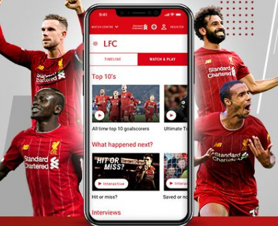 Match Centre – the ALL NEW immersive LFC matchday experience