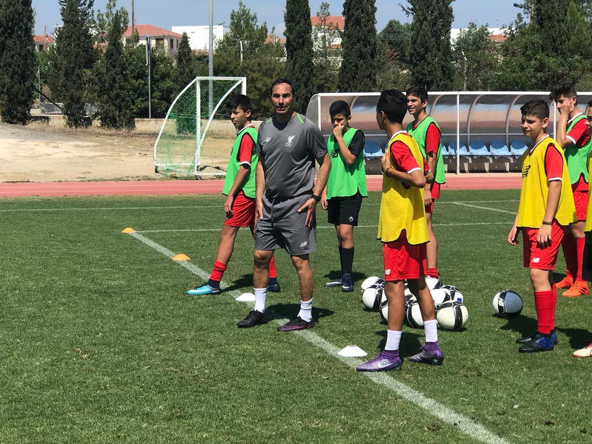 LFC IA Cyprus Head Coach Ara Bedrossian