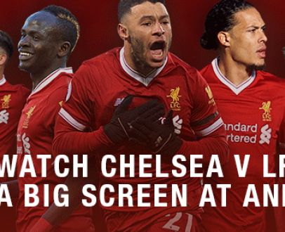 WIN an adult and child ticket to Chelsea v Liverpool FC Away Match Screening at Anfield!