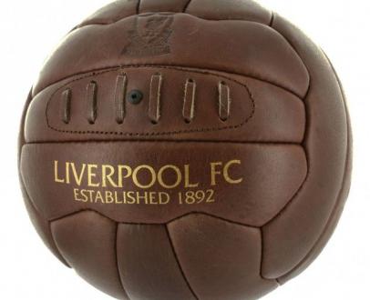 Win an LFC Leather Retro Ball