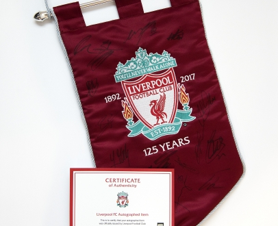 WIN a signed, limited edition 125th Anniversary Pennant!
