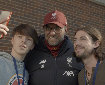Watch LFC Official Members visit Melwood and meet the First Team!