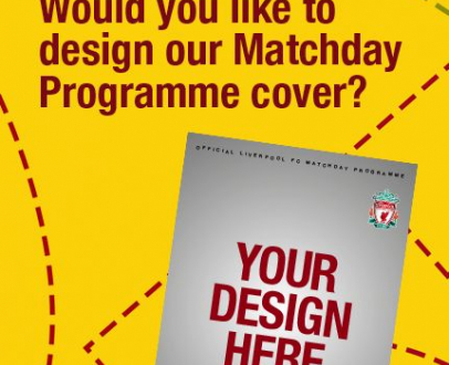 Have you got what it takes to design the LFC Programme cover?