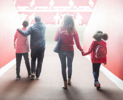 Win a Family Tour of Anfield Stadium!