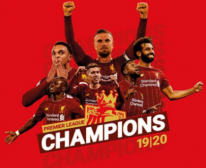 Liverpool FC Champions: Premier League Winner 2019/20 - Official Picture Special Magazine