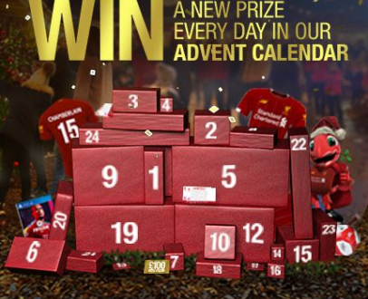 Win a new prize every day in our LFC Advent Calendar!