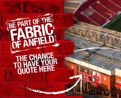 Be part of the fabric of Anfield