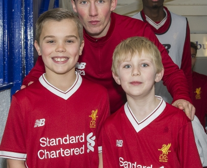 WIN the chance to walk out at Anfield with the LFC U23s