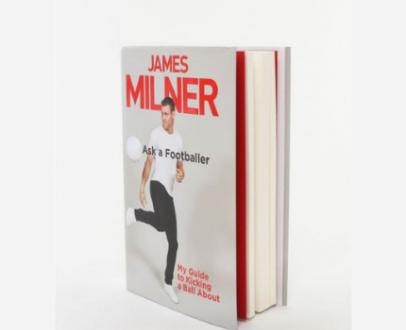 WIN a signed James Milner book!