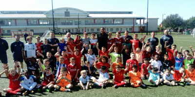 Joel Matip pays special visit to LFC International Soccer School