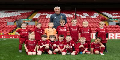 Liverpool legend Ian Rush surprises young Reds fans at Soccer School