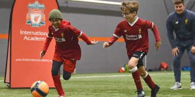 LFC International Academy players experience Anfield for the first time