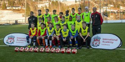 Learn to play the Liverpool way with LFC International Academy Scandinavia
