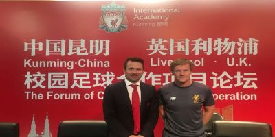 Liverpool FC International Academy Kunming project continues in China