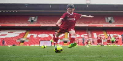 Live the dream: Play at Anfield with LFC Soccer Schools