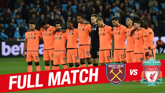 Liverpool foll mot west ham
