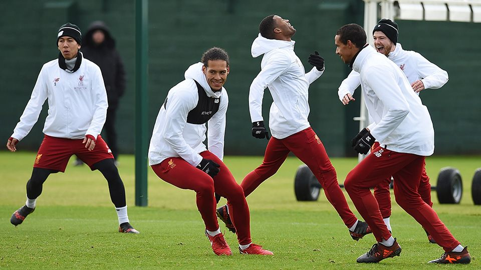 Inside Training: Reds train ahead of Swansea