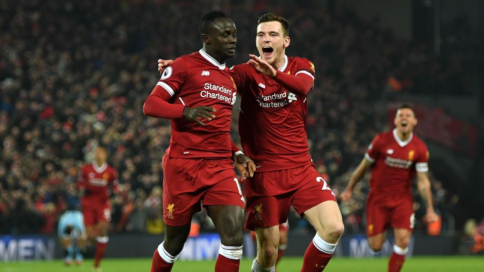 Robertson: Kop singing my name gave me Goosebumps