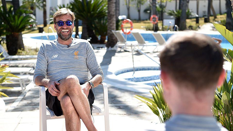 Klopp on Marbella training camp