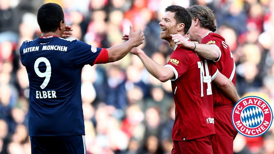 Xabi Alonso's best bits from the Legends game