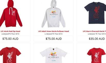 liverpool shirt australia