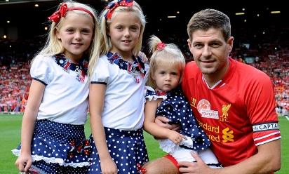 Anfield honours Gerrard