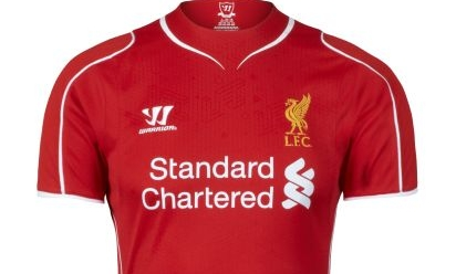 367fee7cb Revealed  LFC s new 2014-15 home kit - Liverpool FC