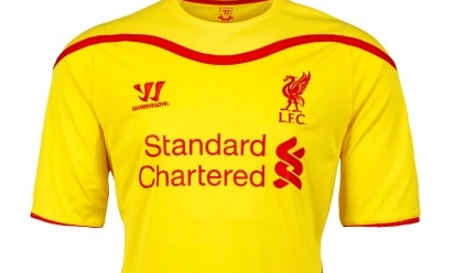 0e67855bef7 LFC reveal brand new away kit for 2014-15 - Liverpool FC