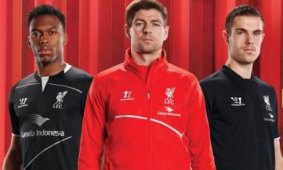 Liverpool Reveal New Garuda Training Kit Liverpool Fc