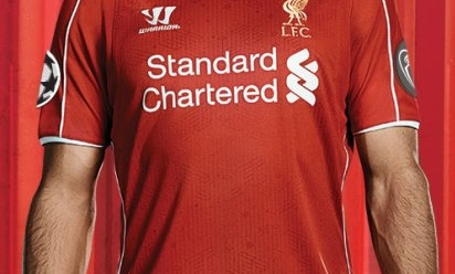 cb199a0d9 Add CL patches to your home kit now - Liverpool FC