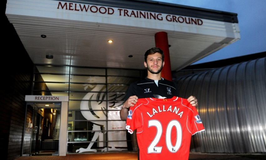 Get your Adam Lallana jersey now - Liverpool FC