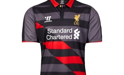 ... 165806 lfc reveal brand new 2014 15 third kit. Standard Chartered New  Balance Western Union · Next article 7ac881b52