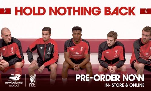 37d1b9a40 Revealed  Reds  new training kit range. Liverpool FC ...