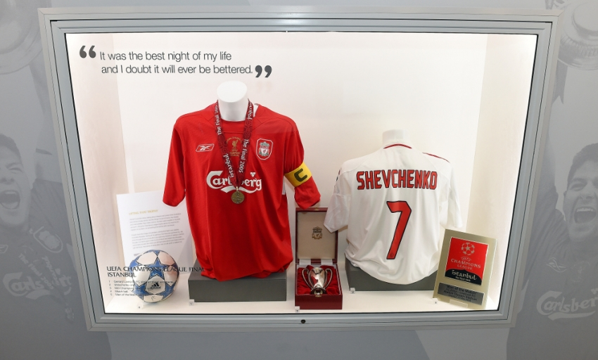 liverpool shirt collection