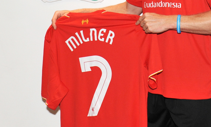 buy online 70c57 4dfa7 James Milner shirt number confirmed - Liverpool FC