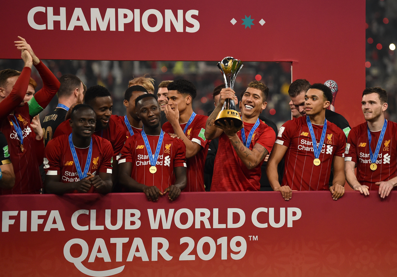Foto Liverpool Menjadi Juara Piala Dunia Klub FIFA Di Qatar