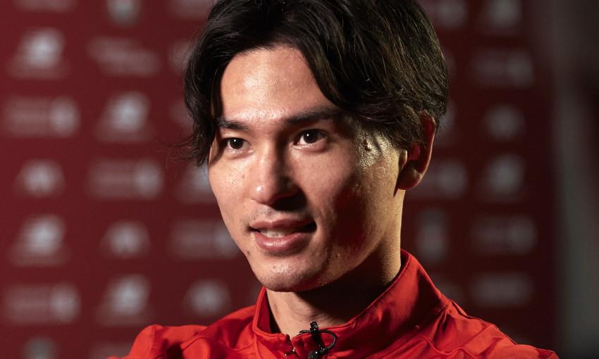 Takumi Minamino signs for Liverpool FC