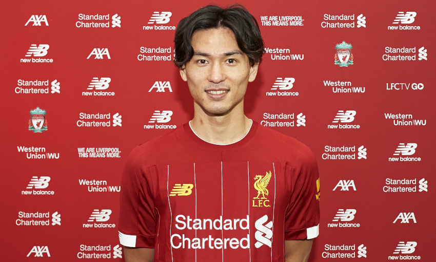 Takumi Minamino signs for Liverpool FC